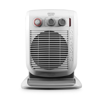 DeLonghi HVF3555TB Bathroom Safe Fan Heater