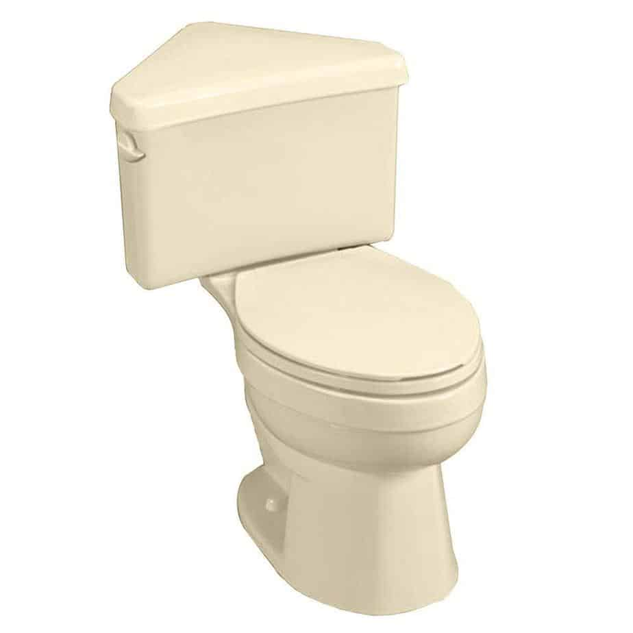 American Standard Titan Pro Right Elongated Toilet Triangle Tank