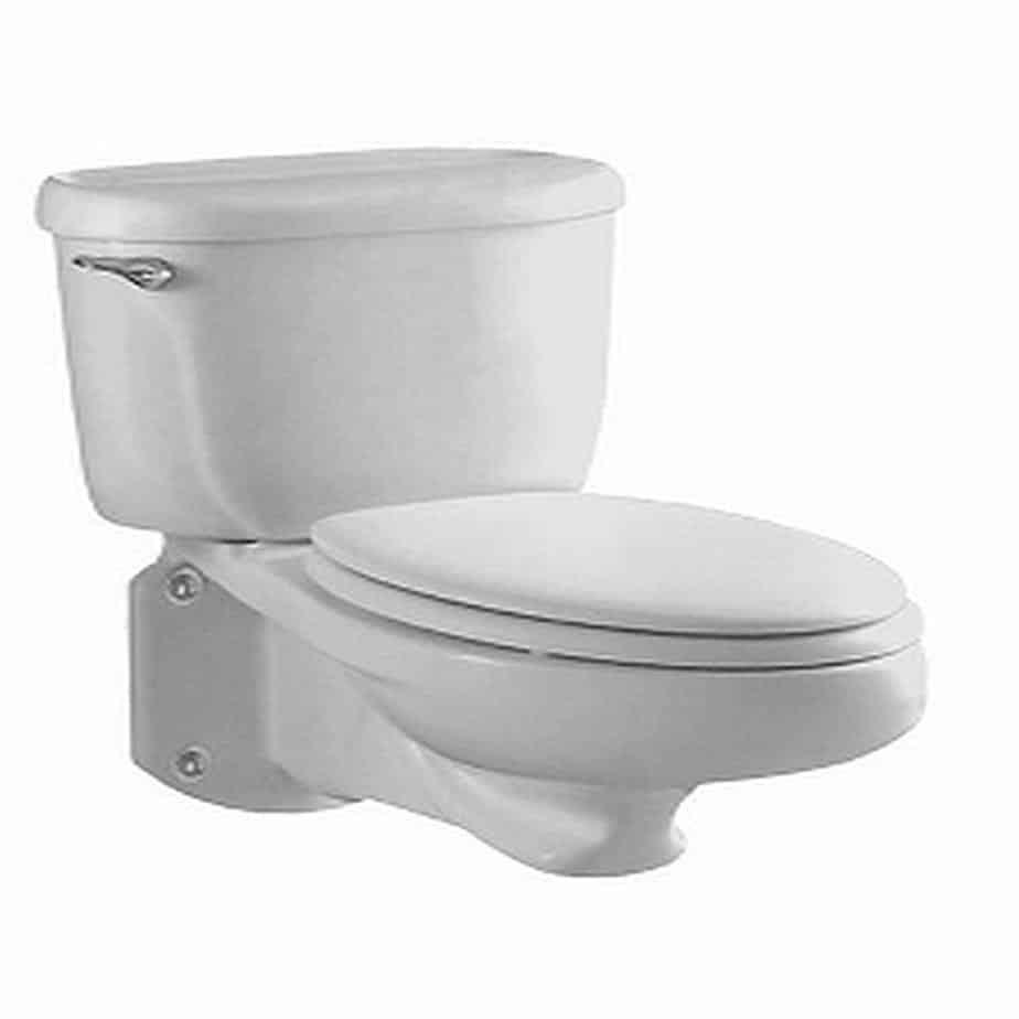 American Standard Glenwall Elongated Wall-Mounted Toilet