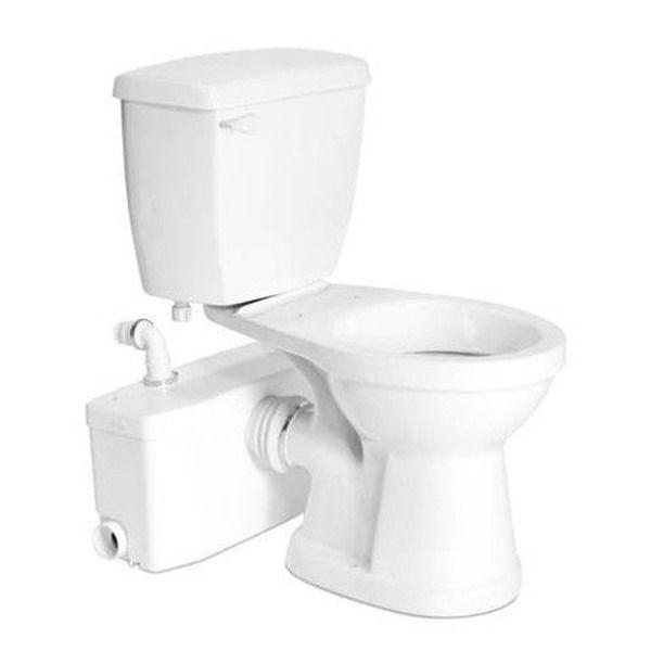 Saniflo SaniPlus Macerating Upflush Toilet Kit – Standard Bowl