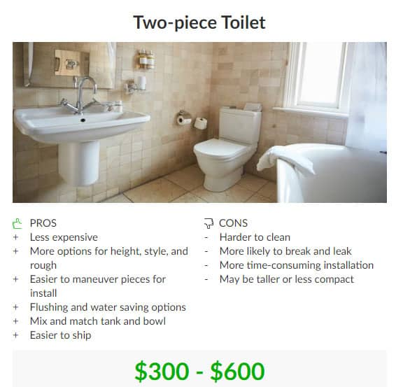 One Piece Vs Two Piece Toilets All The Key Differences To Know