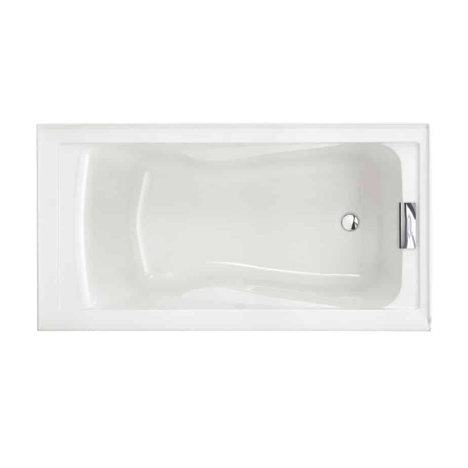 American Standard Evolution Bathtub with Dual Molded-In Arm Rests