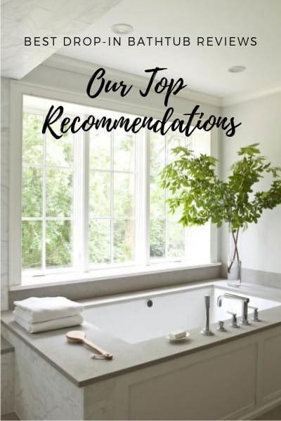 Best Drop-In Bathtub Reviews featured image