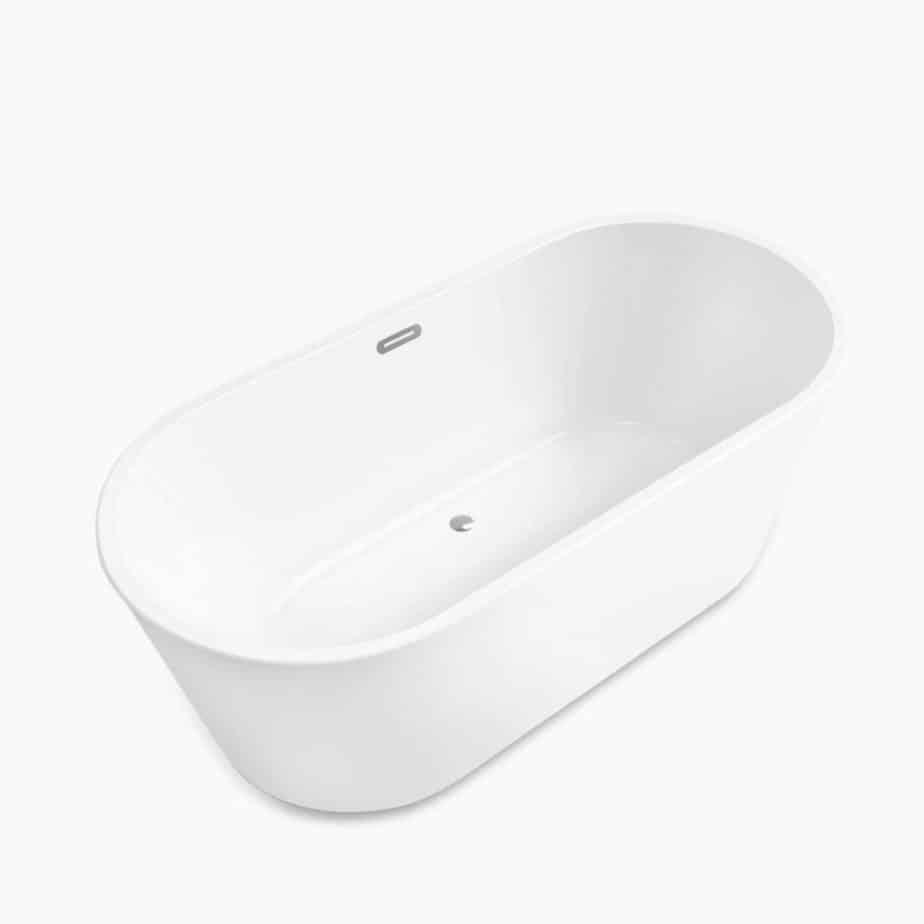 FerdY 67-inch Acrylic Freestanding Bathtub