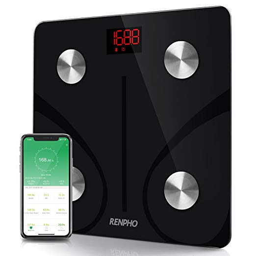 Renpho Bluetooth Smart BMI Digital Bathroom Scale