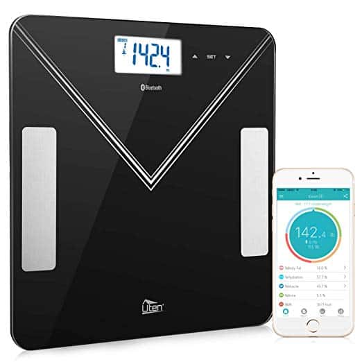 Uten Bluetooth Smart Digital Bathroom Scale