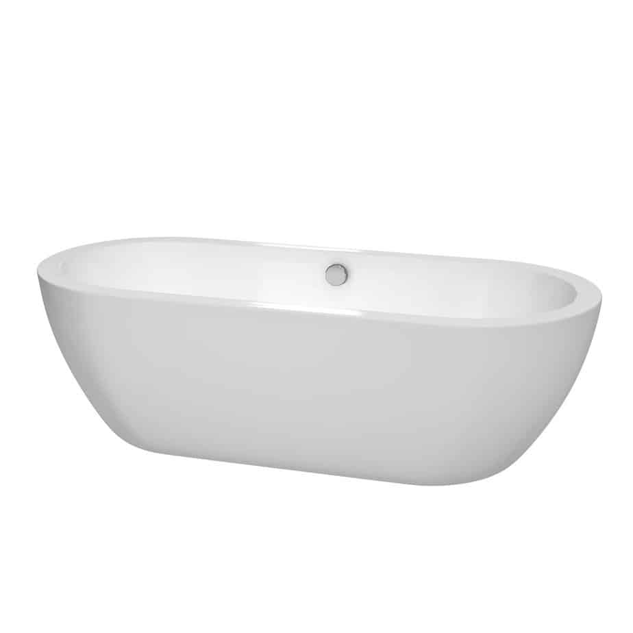 Wyndham Collection Soho 72 inch Freestanding Bathtub