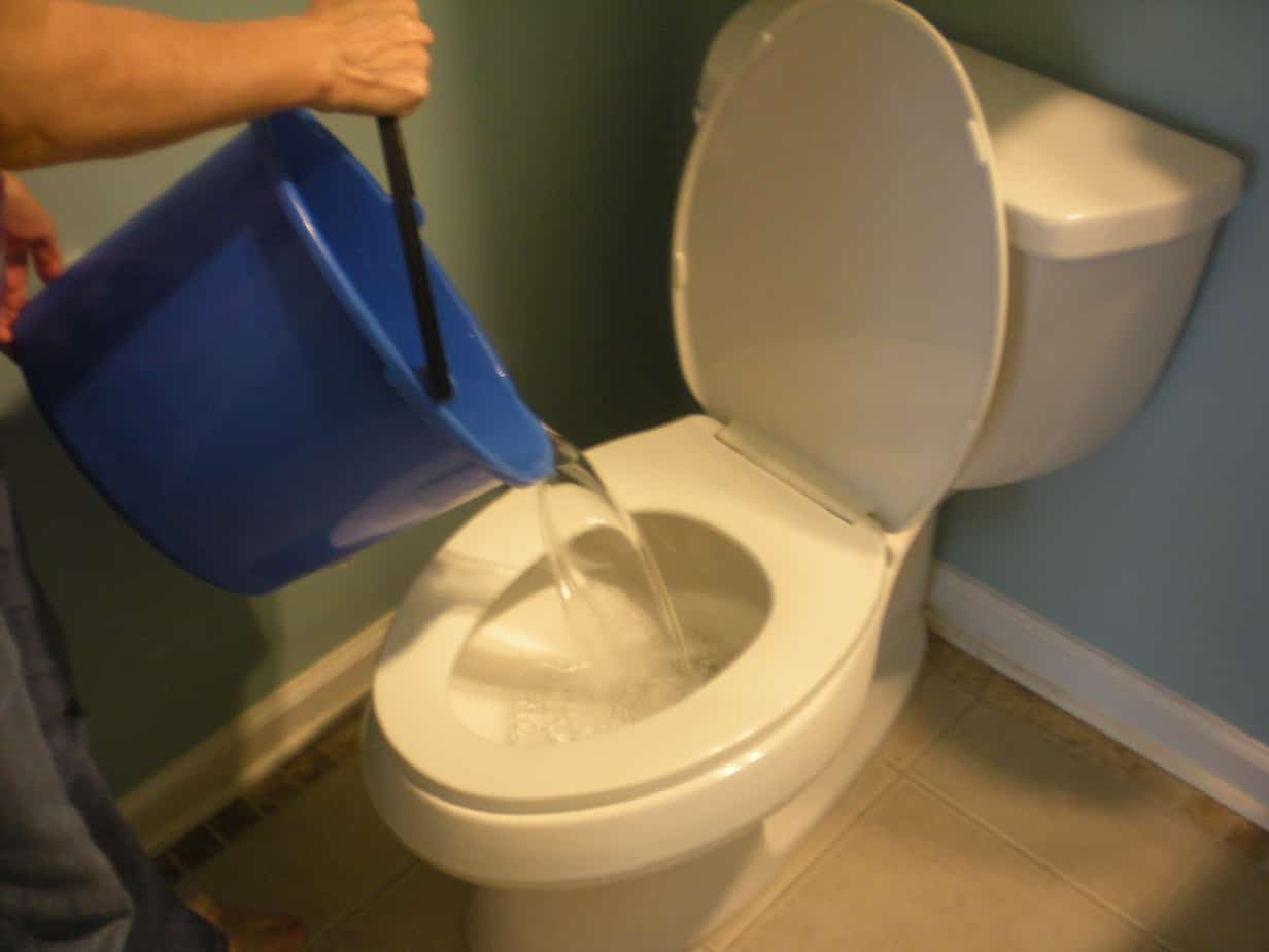 How To Flush A Toilet Without Water: Our Emergency How-To's