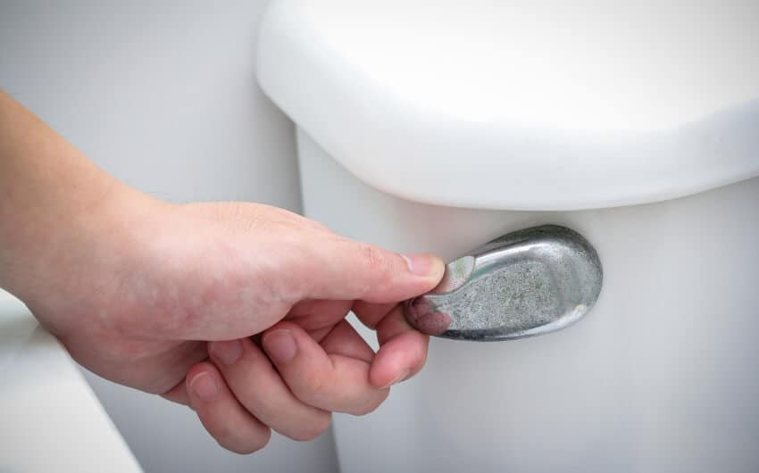 Toilet Doesn't Flush All The Way