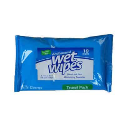 Antibacterial wetwipes